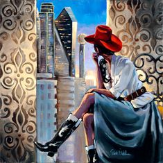 :: Trish Biddle Fine Art :: Home :: Glamorous Women in Fabulous Places :: Eva Longoria :: Kentucky Derby :: Westminster Dog Show :: Hamptons Classic :: Del Mar