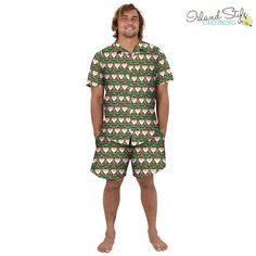 Mens Hawaiian Christ