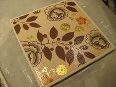diy secret, tiles, christma gift, crafti thing, craft idea, papers, diy christmas gifts, tile coasters, crafti inspir