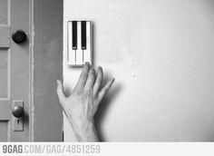 Musical doorbell