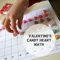 Put that candy to good use... Valentine's Candy Heart Math