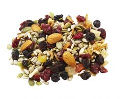 Our Skinny Trail mix is so good and easy to make! Get this recipe and other skinny snacks here.
