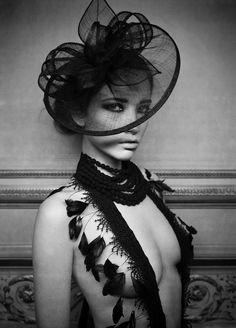 Strangely compelling, Photographer- Marc Lagrange SC | SC on Facebook hats, fashion, inspiration, style, marc lagrang, art, feather, photography, photographi
