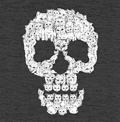 Skulls are for pussies tshirt, $18