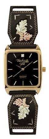 Black Hills Gold Watch - Black
