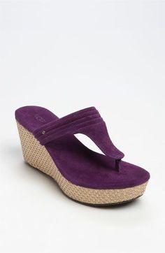 cute purple shoes!