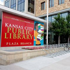 Drop your toys off at the Plaza Branch of the Kansas City Public Library.