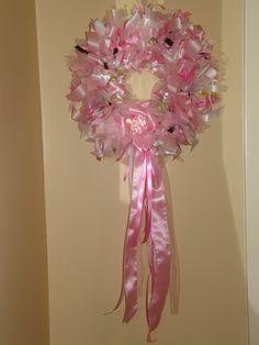 parti wreath