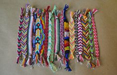 All The Good Girls Go To Heaven: ☩DIY☩ Friendship Bracelets