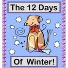"Play a MATH COUNTING-DOWN GAME and sing a funny SONG with your kids!  Tell this story with the tune from ""The Twelve Days of Christmas"" for MULTI-SENSORY LEARNING!  A little boy receives $12 from his Grandma-- plus a PUPPY!  So those '12 Days' are busy with using his money to replace each item that the puppy destroys!  Use the 12 STORY SEQUENCING / MATH POSTERS to track this boy's diminishing money.  Copy the 12 Math Story Posters in gray-scale to make number books!  Joyful Noises Express TpT! $"
