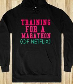 This is my kind of marathon...