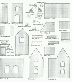 Victorian Gingerbread House Template Images & Pictures - Becuo
