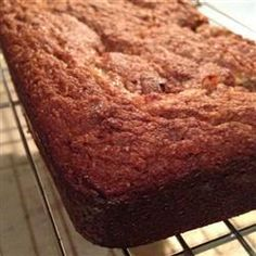 "Paleo Banana Bread | ""Very moist; great bread! I used almond meal instead of almond flour and honey instead of agave. I have tried other grain free/paleo breads, but this one is much more moist and flavorful."""