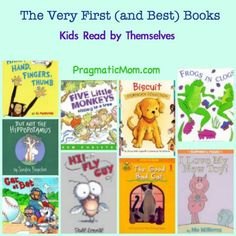 Great list of early readers :) early reader books, best books for kids, book kid, bob books, first books kids, easy books for kids, new books