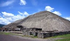 Teotihuacan, Mexico City  --- Pyramid of the Sun