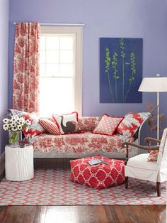Punch Up a Room with Colors and Prints