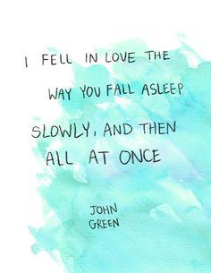 tfio, books, fall asleep, quotes, stars