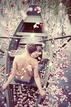 .Love in a canoe