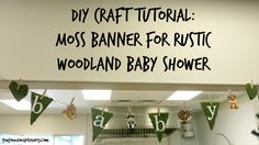 DIY Tutorial: Moss B