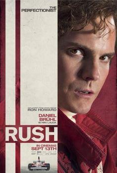 "Nuevo poster de"" Rush"", Daniel Bruhl es Nikki Lauda"