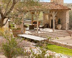 mediterranean homes, patio design, tuscan decor, tuscan design, court, outdoor parties, backyard, landscape designs, outdoor spaces