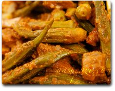 khoresht bamieh is okra stew, I use lamb for stews in this dish served over Polo (persian rice)