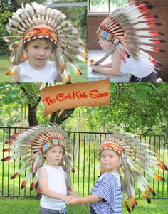 WIN this child's Indian Headdress ~ Happy New Year Giveaway. Click on the image to enter!