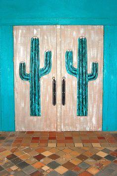 Doorway, Cactus  Tile