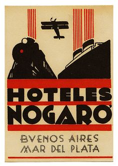"Hoteles ""Nogaro"" - Mar del Plata."