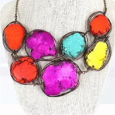 Not Your Rock Necklace now featured on Fab.