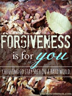 Have you ever found yourself holding on to a wound from your past. Afraid to unclench your fist and extend forgiveness to the person who brought you pain? Find out how it is holding you back, and how forgiveness is really giving a GIFT to yourself.