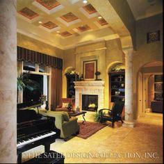 Great houses interiors on pinterest mediterranean for Sater design ferretti