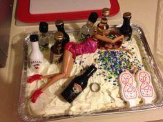 Funny cakes for twenty somethings