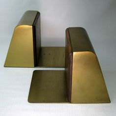 #metal #bookends #books