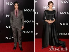 Ian Somerhalder, Douglas Booth, Emma Watson And More Attend The 'Noah' Premiere In NYC