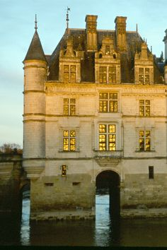 Chateau of Chenonceau in Loire Valley, France.