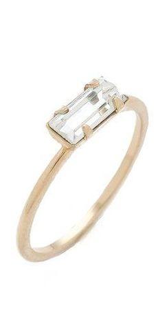 bing bang, diamond rings, style, baguett ring, tini baguett, jewelri, thing, baguette ring, engagement rings