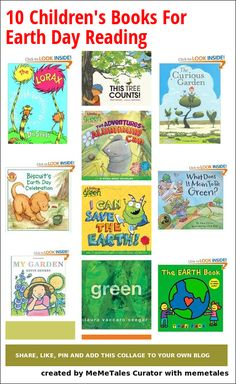 Do you have a favorite book in this list of Children's books for Earth Day reading? list of childrens books, gardens, favorit book, earth day, 10 children, children books, children's library, books for kids, curious garden