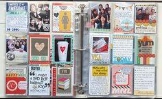 Idea: do a mini card each day