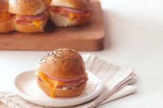 Party Ham Sandwiches recipe