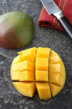 how to: cut a mango.