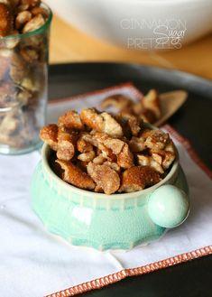 Cinnamon Sugar Pretzels aka Churro Pretzels.