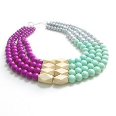 Dahlia Necklace now featured on Fab.