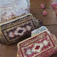 Shabby Chic Italian Leather Wallet