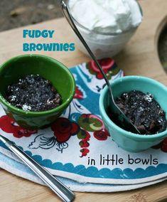 #1: FUDGY MICROWAVE BROWNIE IN A CUP