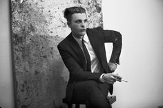 Michael Pitt in Costume National in Flaunt Magazine, May 2014