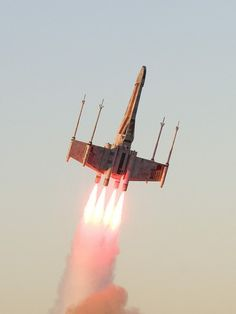 X-wing models, geek, real life, xwing fighter, aim high, stars, starwar, star wars party, rockets