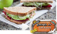 Ezekiel 4:9 Low Sodium Sprouted Whole Grain Bread | Food For Life