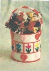 free pattern, flower baskets, lazi daisi, daisi flower