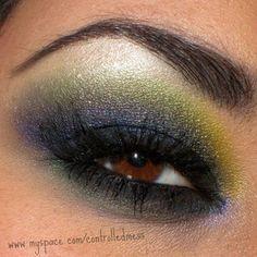 !! Brown eye make up!